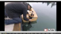 Mini Boat First Launch
