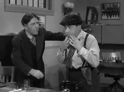 The Three Stooges Tricky Dicks 1953 Shemp Larry Moe thumb48224