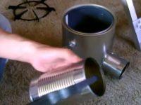 Homemade TIN CAN Rocket Stove DIY Rocket Stove Awesome Stove EASY instructions thumb20200