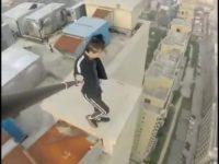 Wu Yongning Daredevil Stunts Part 1 Breath Taking HD Compilation thumb281