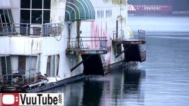abandoned floating Expo 86 McBarge thumb47694