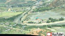 Plane Landing at Paro Airport of Bhutan thumb2