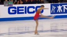 Russian Skater has Instant Costume Change Anna Shcherbakova. thumb2