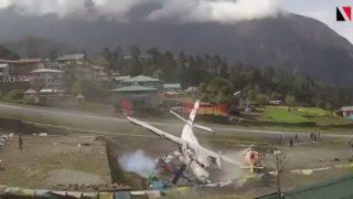 Accident Summit L410 at Lukla on Apr 14th 2019 thumb2