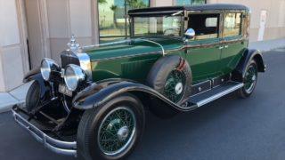 Al Capones 1928 Bulletproof Cadillac thumb1