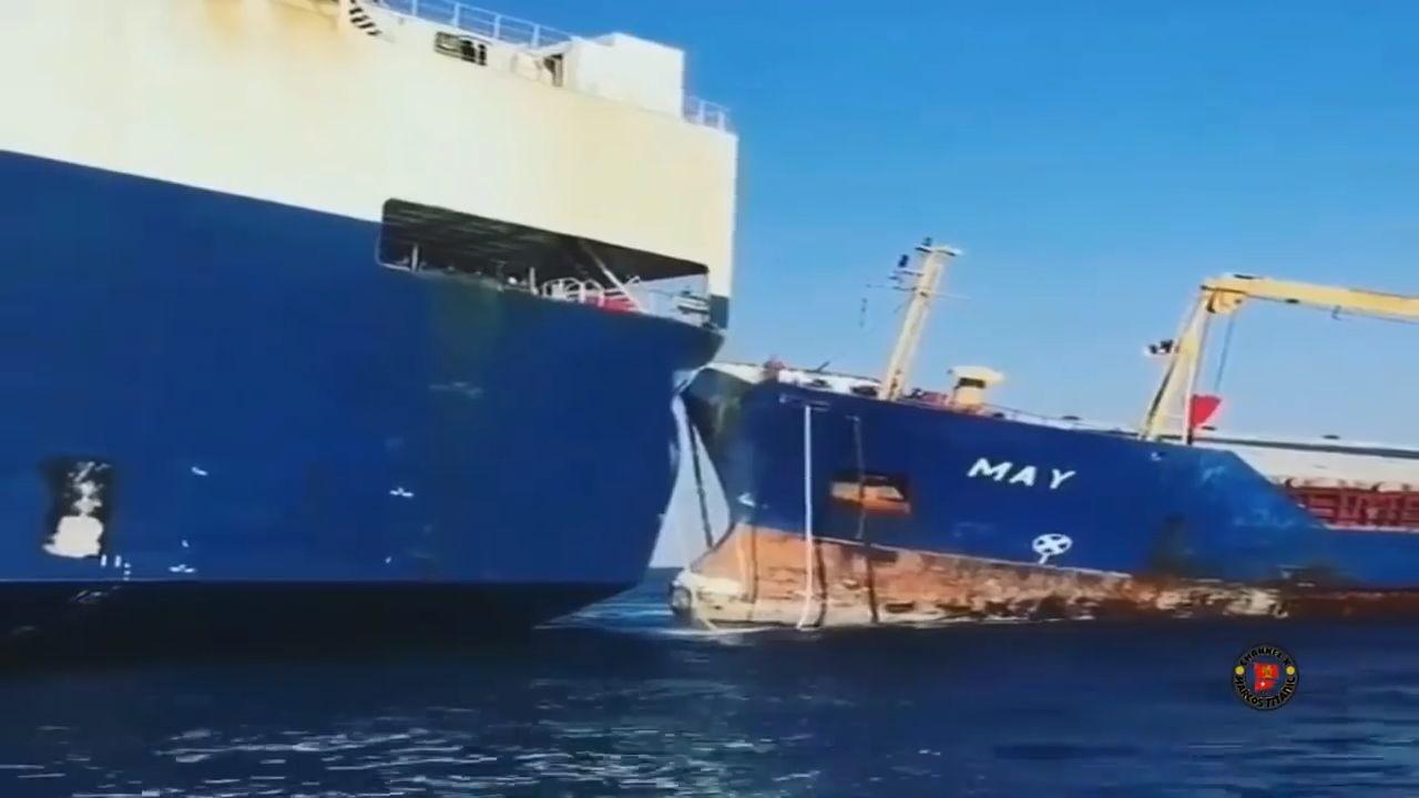 Fatal Ship Collision Disaster Ships Sinking thumb2